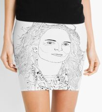 tina fey drawing Mini Skirt