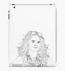 tina fey drawing iPad Case/Skin