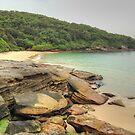 Beach & Rocks at La Perouse by Michael Matthews
