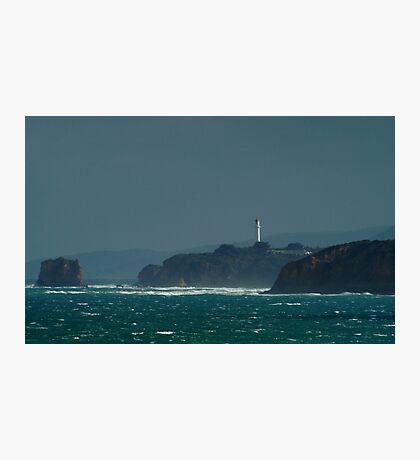 Bleak Weather, Aireys Inlet, Split Point. Photographic Print