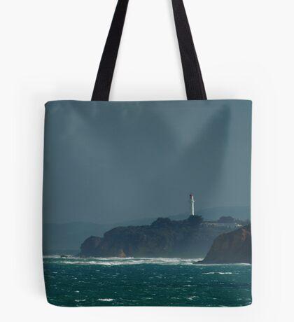 Bleak Weather, Aireys Inlet, Split Point. Tote Bag