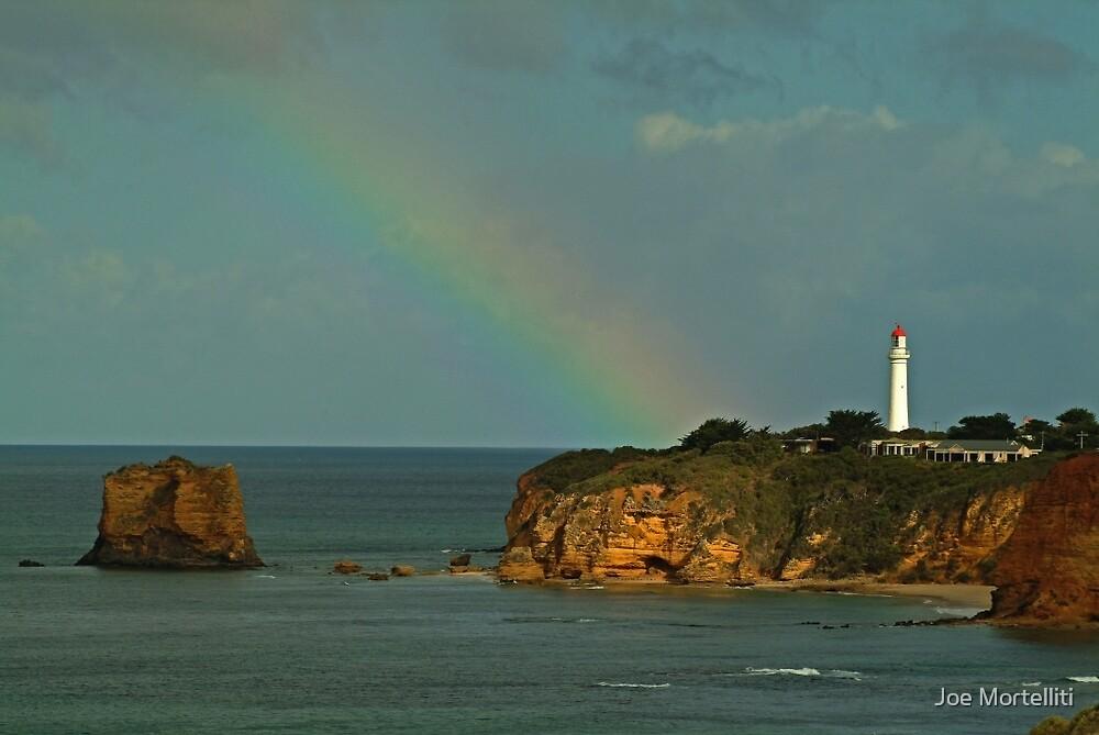Nature's Spotlight, Airey's Inlet, Great Ocean Road by Joe Mortelliti