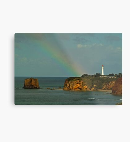 Nature's Spotlight, Airey's Inlet, Great Ocean Road Metal Print
