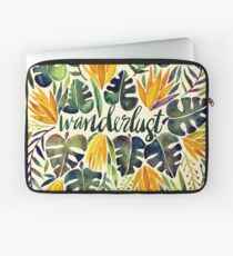 Tropical Wanderlust – Orange & Emerald Laptop Sleeve