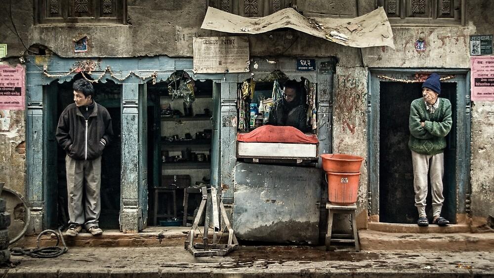 Urban Kathmandu #0302 by Michiel de Lange
