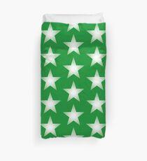 Green Star Duvet Cover