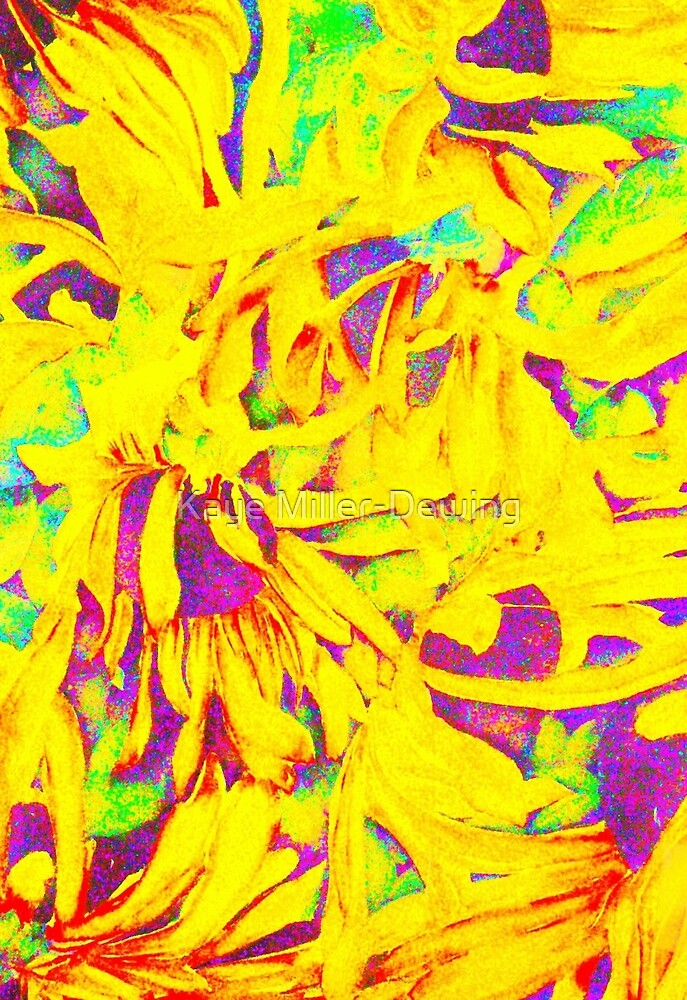 sunflowers 1 by Kaye Miller-Dewing