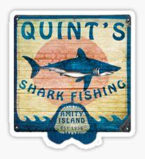 Quint's Shark Fishing Sticker