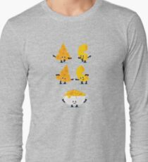 Character Fusion - Mac N Cheese Long Sleeve T-Shirt