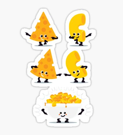Character Fusion - Mac N Cheese Sticker