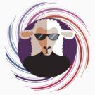 sheepnik beatknit beatnik sheet sunglasses spiral by BigMRanch