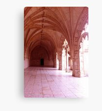 Golden Architecture Canvas Print