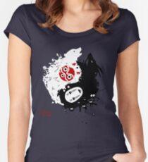 Spirits Yin-Yang Women's Fitted Scoop T-Shirt