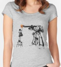 Megatron - Peace Through Botany Women's Fitted Scoop T-Shirt