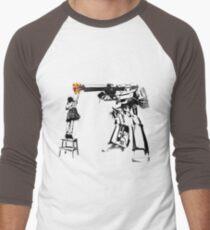 Megatron - Peace Through Botany Men's Baseball ¾ T-Shirt