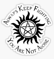 Supernatural Not Alone v1.0 Sticker