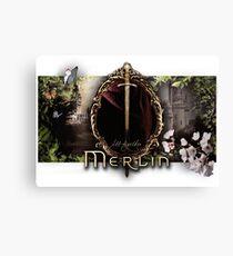 Merlin logo Canvas Print