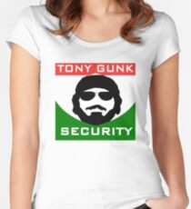 Tony Gunk Security Women's Fitted Scoop T-Shirt