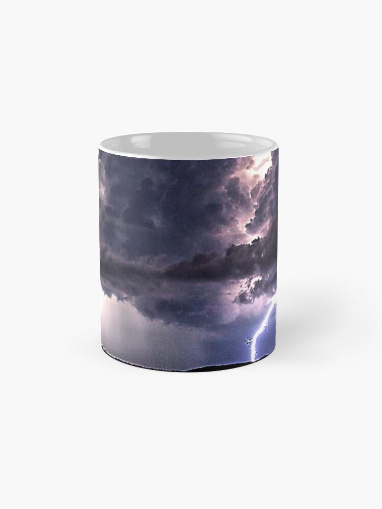 Alternate view of Lightning in HDR Mug
