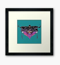 Darkwing Duck Bat Framed Print