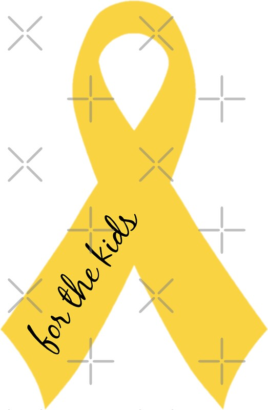 Quot For The Kids Ribbon Quot Stickers By P H Redbubble