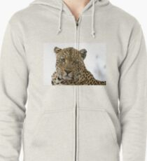 Can Leopards Wink? Zipped Hoodie