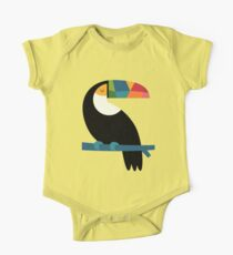 Rainbow Toucan Kids Clothes