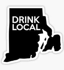 Rhode Island Drink Local RI Sticker