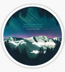Heaven Sent Sticker