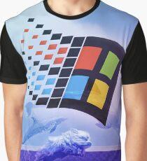 majestic vaporwave doggo Graphic T-Shirt