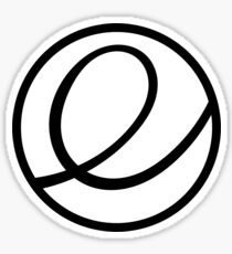 Elementary OS logo Sticker