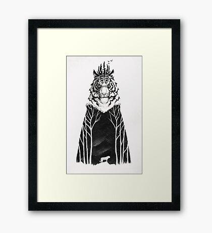 The Siberian King Framed Print