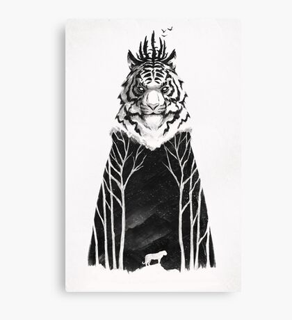 The Siberian King Canvas Print