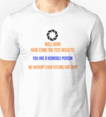 Portal - Not Even Testing T-Shirt