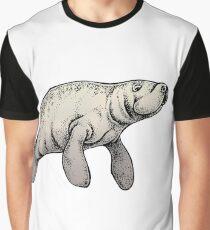 Mr. Manatee Graphic T-Shirt