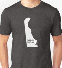 Delaware Drink Local DE Unisex T-Shirt