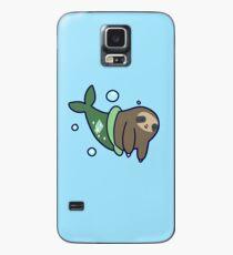 Mermaid Sloth Case/Skin for Samsung Galaxy