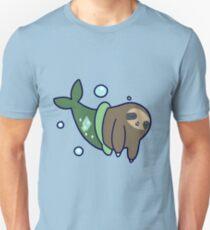 Mermaid Sloth Unisex T-Shirt