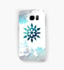 White Snowflake Samsung Galaxy Case/Skin