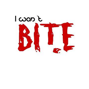 I Won't Bite! by irmachan
