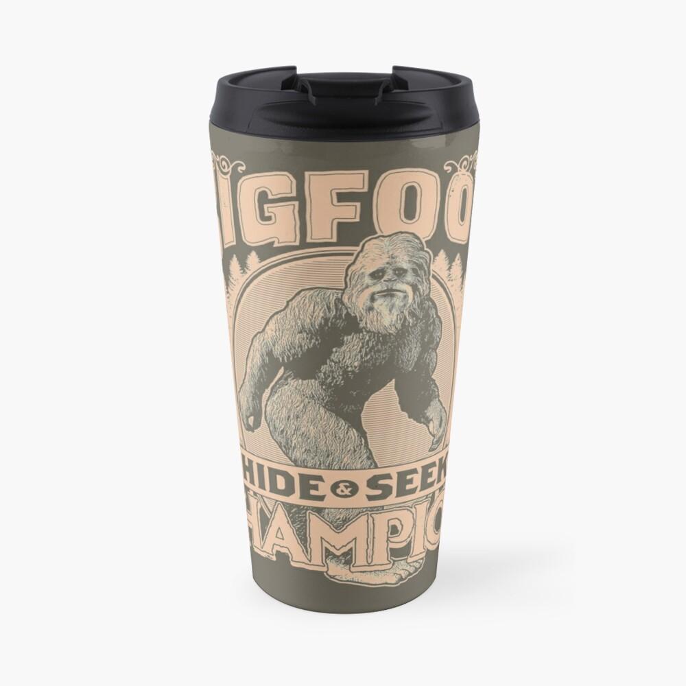 Bigfoot - Hide & Seek Champion Travel Mug