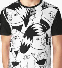 Personajes de pesadilla Camiseta gráfica