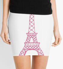 Pink Eiffel Tower Mini Skirt
