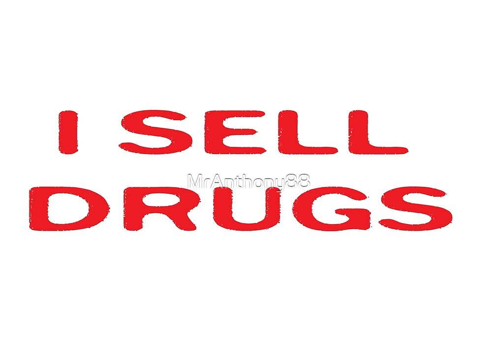 Drugs Funny Pharmacy T-Shirt by MrAnthony88