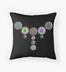 """The Harries-Wong Jewels""© Throw Pillow"