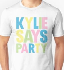 Kylie Minogue - Kylie sagt Party Slim Fit T-Shirt