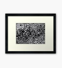 im here to help Framed Print