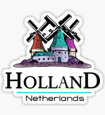Holland, The Netherlands Sticker
