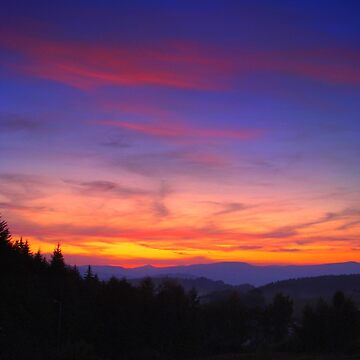 Mountain Sunset by Eugenio
