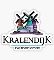 Kralendijk, The Netherlands Antilles Sticker